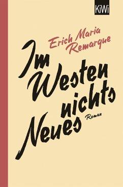 Im Westen nichts Neues - Remarque, Erich M.