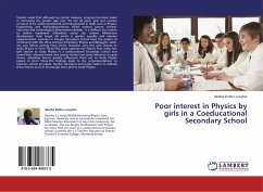 Poor interest in Physics by girls in a Coeducational Secondary School