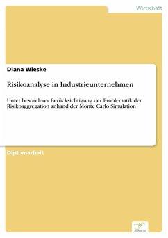 Risikoanalyse in Industrieunternehmen (eBook, PDF) - Wieske, Diana