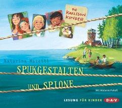 Spukgestalten und Spione / Die Karlsson-Kinder Bd.1 (2 Audio-CDs) - Mazetti, Katarina