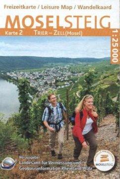 Topographische Freizeitkarte Rheinland-Pfalz Mo...