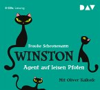 Agent auf leisen Pfoten / Winston Bd.2 (3 Audio-CDs)