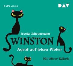 Agent auf leisen Pfoten / Winston Bd.2 (3 Audio-CDs) - Scheunemann, Frauke