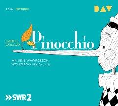 Pinocchio, 1 Audio-CD - Collodi, Carlo
