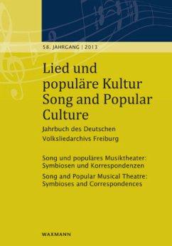 Lied und populäre Kultur - Song and Popular Culture 58 (2013); Song and Popular Culture