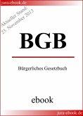 BGB - Bürgerliches Gesetzbuch - Aktueller Stand: 23. November 2013 (eBook, ePUB)