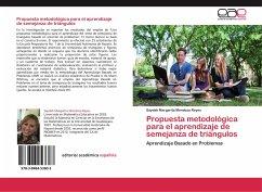 Propuesta metodológica para el aprendizaje de semejanza de triángulos