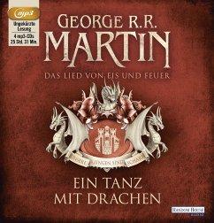 Ein Tanz mit Drachen / Das Lied von Eis und Feuer Bd.10 (4 MP3-CDs) - Martin, George R. R.