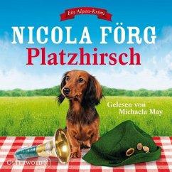 Platzhirsch / Kommissarin Irmi Mangold Bd.5 (5 Audio-CDs) - Förg, Nicola