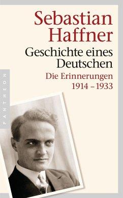 Geschichte eines Deutschen - Haffner, Sebastian