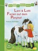 Leni & Lotti - Ferien auf dem Ponyhof / Erst ich ein Stück, dann du Bd.26