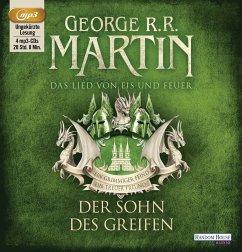Der Sohn des Greifen / Das Lied von Eis und Feuer Bd.9, 4 MP3-CDs