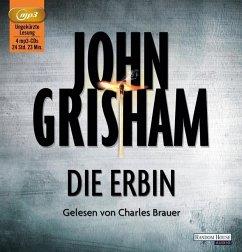 Die Erbin, 4 MP3-CDs - Grisham, John