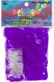 Rainbow Loom - Gummibänder lila 600 St