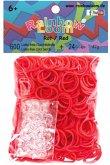 Rainbow Loom - Gummibänder rot 600 Stü