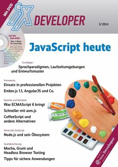 iX Developer - Javascript heute (eBook, PDF)
