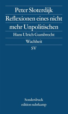 Reflexionen eines nicht mehr Unpolitischen (eBook, ePUB) - Sloterdijk, Peter