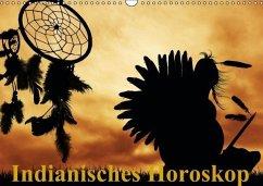 Indianisches Horoskop / Geburtstagskalender (Wandkalender immerwährend DIN A3 quer)