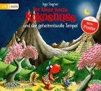 Der kleine Drache Kokosnuss und der geheimnisvolle Tempel / Die Abenteuer des kleinen Drachen Kokosnuss Bd.21 (Audio-CD)