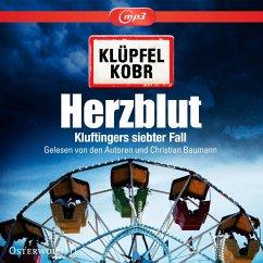 Herzblut / Kommissar Kluftinger Bd.7 (2 MP3-CDs) - Klüpfel, Volker; Kobr, Michael