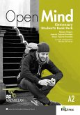 Elementary: Open Mind. Student's Book with Webcode (incl. MP3) and Print-Workbook with Audio-CD + Key