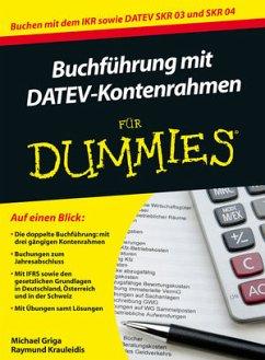 Buchführung mit DATEV-Kontenrahmen für Dummies - Griga, Michael; Krauleidis, Raymund