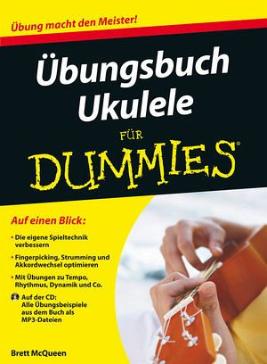 bungsbuch ukulele f r dummies von brett mcqueen portofrei. Black Bedroom Furniture Sets. Home Design Ideas