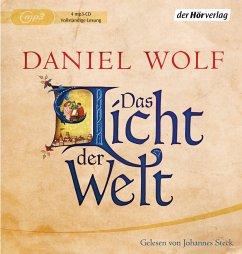 Das Licht der Welt / Fleury Bd.2 (4 MP3-CDs) - Wolf, Daniel