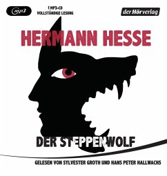 Der Steppenwolf, 1 MP3-CD - Hesse, Hermann