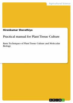 Practical manual for Plant Tissue Culture (eBook, PDF)
