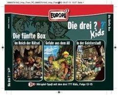 Die drei ???-Kids - Die 5. Box, 3 Audio-CDs - Blanck, Ulf