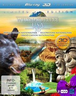 Weltnaturerbe USA 3D (Blu-ray 3D+2D, Limited Edition) - N/A