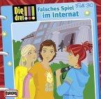 Falsches Spiel im Internat / Die drei Ausrufezeichen Bd.30 (Audio-CD)