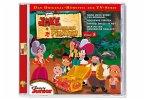 Jake und die Nimmerland Piraten, 1 Audio-CD