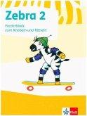 Zebra. Forderblock zum Knobeln und Rätseln 2. Schuljahr (Neubearbeitung)