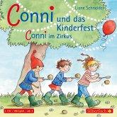 Meine Freundin Conni, Conni und das Kinderfest / Conni im Zirkus, 1 Audio-CD