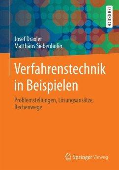 Verfahrenstechnik in Beispielen - Draxler, Josef;Siebenhofer, Matthäus