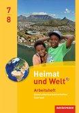Heimat und Welt Gesellschaftswissenschaften 7 / 8. Arbeitsheft. Saarland