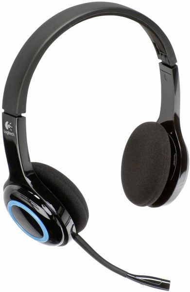 logitech h 600 kabelloses headset usb. Black Bedroom Furniture Sets. Home Design Ideas