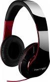 FANTEC SHP-250AJ-BK On-Ear Kopfhörer schwarz/rot