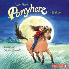 Ponyherz in Gefahr / Ponyherz Bd.2 (1 Audio-CD) - Luhn, Usch