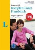Langenscheidt Komplett-Paket Französisch, 3 Bücher mit 10 Audio-CDs