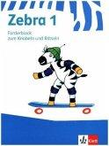 Zebra. Forderheft Sprache/Lesen zum Knobeln und Rätseln. 1. Schuljahr. Neubearbeitung