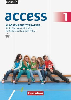 English G Access 01: 5. Schuljahr. Klassenarbeitstrainer mit Audios und Lösungen online
