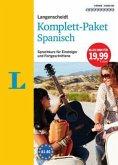 Langenscheidt Komplett-Paket Spanisch, 3 Bücher mit 9 Audio-CDs