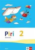 Piri Das Sprach-Lese-Buch. Arbeitsheft 2. Schuljahr. Ausgabe für Bayern