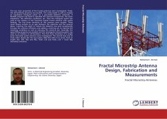 Fractal Microstrip Antenna Design, Fabrication and Measurements