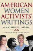 American Women Activists' Writings (eBook, ePUB)