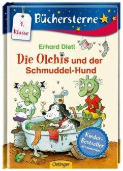 Die Olchis und der Schmuddel-Hund / Die Olchis Büchersterne 1. Klasse Bd.2 - Dietl, Erhard