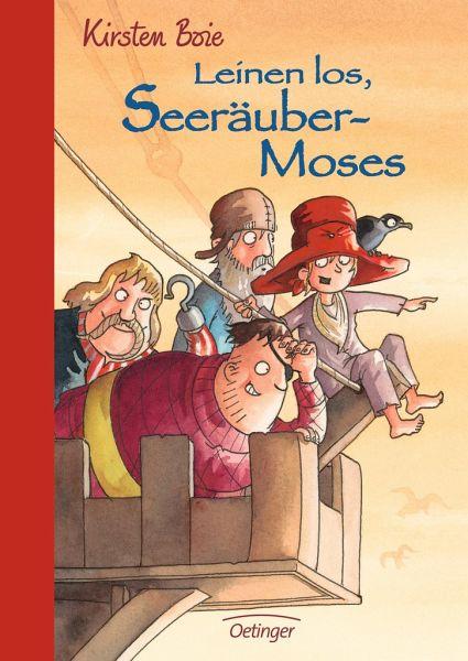 Buch-Reihe Seeräuber-Moses von Kirsten Boie